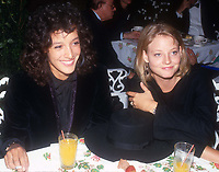 Jennifer Beals and Jodie Foster Circa 1980's<br /> Photo By John Barrett/PHOTOlink.net /MediaPunch
