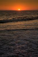 Santa Monica Beach near the Santa Monica Pier.