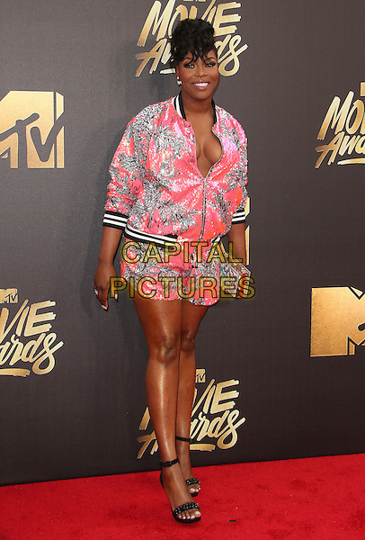 09 April 2016 - Burbank, California - Ta'Rhonda Jones. 2016 MTV Movie Awards held at Warner Bros. Studios. <br /> CAP/ADM/SAM<br /> &copy;SAM/ADM/Capital Pictures