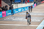 Peter Sagan (SVK) Bora-Hansgrohe crosses the finish line in the Roubaix Velodrome at the end of the 117th edition of Paris-Roubaix 2019, running 257km from Compiegne to Roubaix, France. 14th April 2019<br /> Picture: Thomas van Bracht/PelotonPhotos.com | Cyclefile<br /> All photos usage must carry mandatory copyright credit (&copy; Cyclefile | Thomas van Bracht/PelotonPhotos.com)