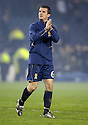 17/11/2007      Copyright Pic: James Stewart.File Name : sct_jspa14_scotland_v_italy.A DEJECTED BARRY FERGUSON AT THE END OF THE GAME....James Stewart Photo Agency 19 Carronlea Drive, Falkirk. FK2 8DN      Vat Reg No. 607 6932 25.Office     : +44 (0)1324 570906     .Mobile   : +44 (0)7721 416997.Fax         : +44 (0)1324 570906.E-mail  :  jim@jspa.co.uk.If you require further information then contact Jim Stewart on any of the numbers above........