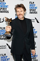LOS ANGELES - FEB 8:  Willem Dafoe at the 2020 Film Independent Spirit Awards at the Beach on February 8, 2020 in Santa Monica, CA