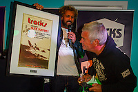 Torquay, Victoria/Australia (Monday, April 9, 2012)  The 500th Issue Tracks party at Growlers Restaurant in Torquay attended by past editors Phil Jarratt (AUS), Gary Dunne (AUS),Neil Ridgway (AUS), current editor Luke Kennedy (AUS) surfers and friends of the magazine.Photo: joliphotos.com