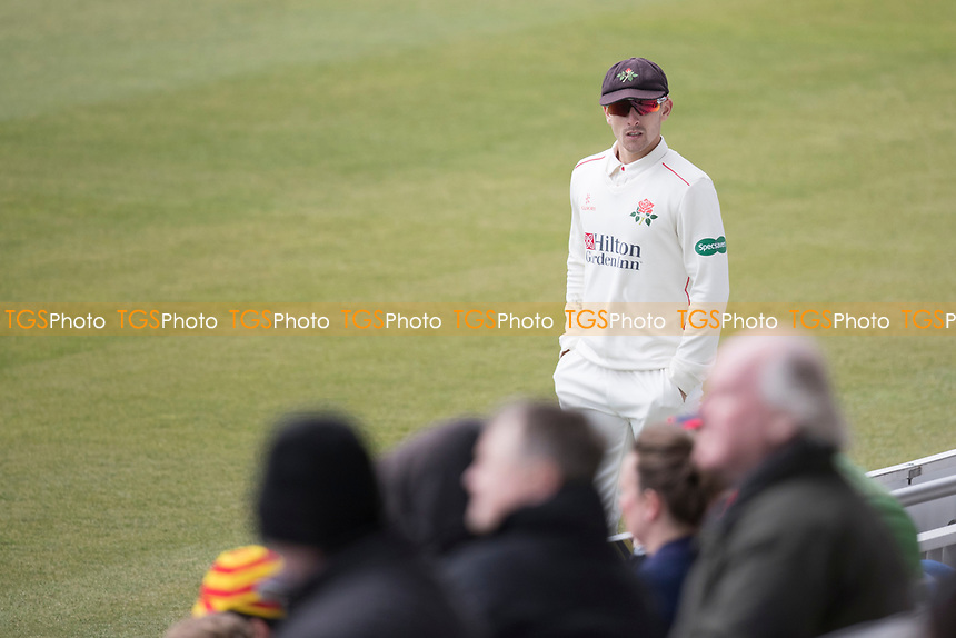 Crowd watching  during Middlesex CCC vs Lancashire CCC, Specsavers County Championship Division 2 Cricket at Lord's Cricket Ground on 12th April 2019