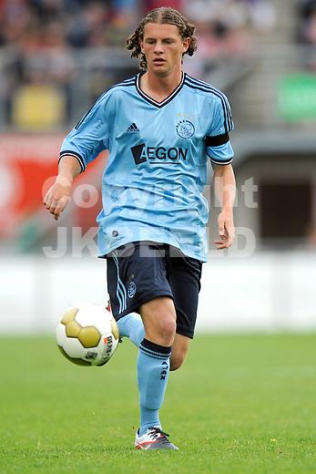 EMMEN - FC Emmen - Ajax voorbereiding  seizoen 2011-2012 , 09-07-2011 Ajax speler Mats Rits