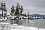 Sand Harbor in Winter, Lake Tahoe