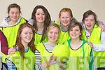 Listowel ladies soccer team at the KDYS County Games day in Killarney on Sunday..Front row l-r: Aisling Grimes, Olivia Scanlon, Julianne Fitzpatrick. Back row: Shauna Buckley, Lauren Kelliher, Lauren Flavin and Geraldine Walsh..