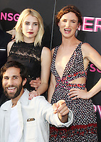 NEW YORK, NY-July 12: Emma Roberts, Juliette Lewis, Ariel Schulman  at Lionsgate presents the World Premiere of NERVE   at SVA Theater in New York. NY July 12, 2016. Credit:RW/MediaPunch