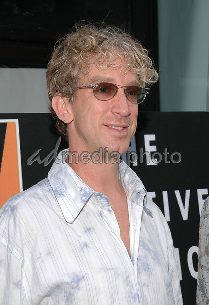 26 July 2005 - New York, New York - Andy Dick arrives at the premiere of his new film, &quot;The Aristocrats&quot;, at The Directors Guild Theater in Manhattan.  <br />