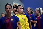 Spanish Women's Football League Iberdrola 2017/18 - Game: 9.<br /> FC Barcelona vs Madrid CFF: 7-0.<br /> Sandra Pa&ntilde;os.