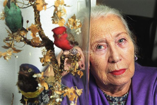 Dominique Rolin in 2001.