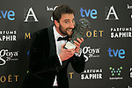 Dani Rovira attend the 2015 Goya Award Winners Photocall at Auditorium Hotel, Madrid,  Spain. February 08, 2015.(ALTERPHOTOS/)Carlos Dafonte)