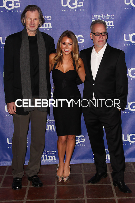 SANTA BARBARA, CA - FEBRUARY 05: Elia Cmiral, Alexa Vega, Mark Young at the 29th Santa Barbara International Film Festival - Honoring Oprah Winfrey With The Montecito Award held at the Arlington Theatre on February 5, 2014 in Santa Barbara, California. (Photo by Xavier Collin/Celebrity Monitor)
