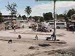 UN armored vehicle, Port-au-Prince.