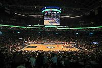 NEW YORK, EUA, 08.04.2017 - BROOKLYN NETS-CHICAGO BULLS - Vista do Barcleys Center onde acontece a partida entre Brooklyn Nets e Chicago Bulls em New York na noite deste sábado, 08.(Foto: William Volcov/Brazil Photo Press)
