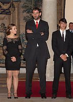 Jorge Garbajosa attend the National Sports Awards ceremony at El Pardo Palace. December 05, 2012. (ALTERPHOTOS/Caro Marin) NortePhoto