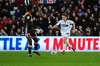 George Byers of Swansea City in action during the Sky Bet Championship match between Swansea City and Brentford at the Liberty Stadium in Swansea, Wales, UK. Tuesday 02 April 2019