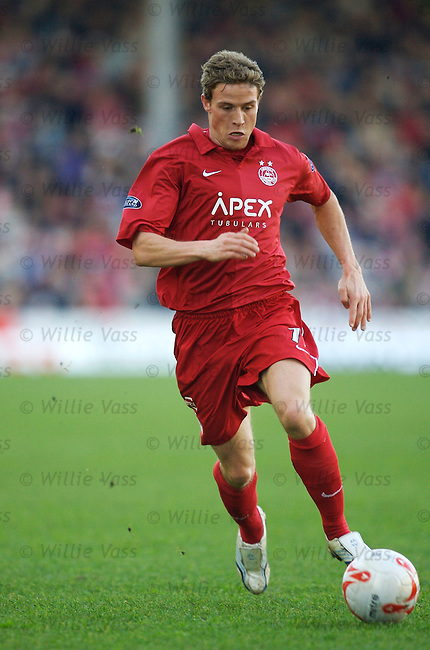 Chris Clark, Aberdeen.stock season 2006-2007.pic willie vass