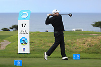 Shane Lowry (IRL) in action at Spyglass Hill Golf Course during the third round of the AT&T Pro-Am, Pebble Beach Golf Links, Monterey, USA. 09/02/2019<br /> Picture: Golffile | Phil Inglis<br /> <br /> <br /> All photo usage must carry mandatory copyright credit (© Golffile | Phil Inglis)