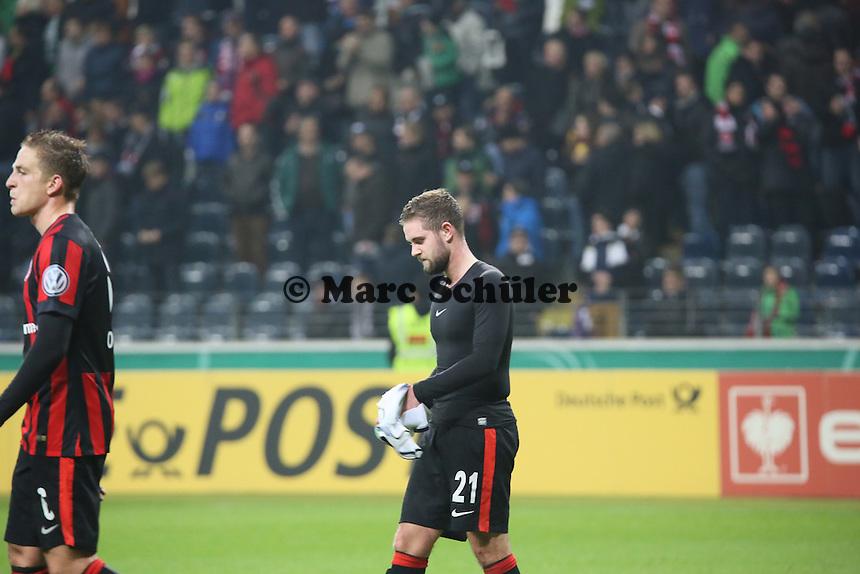 Marc Stendera (Eintracht) - Eintracht Frankfurt vs. Borussia Mönchengladbach, DFB-Pokal 2. Runde, Commerzbank Arena