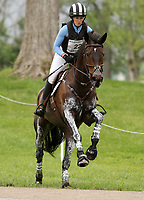 LEXINGTON, KY - April 29, 2017. #22  Mettraise and Erin Sylvester from the USA on the Cross Country course at the Rolex Three Day Event at the Kentucky Horse Park.  Lexington, Kentucky. (Photo by Candice Chavez/Eclipse Sportswire/Getty Images)