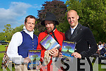 ACTORS: Actors who acted in the William Shakepears play A Midsummer Nights Dream by the  Chapterhouse Theatre Company in Ballyseedy Castle Hotel on Sunday evening l-r: Gregory Smithy, Miles Eagling and Adam Diggles......................................................................................... ........