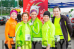 Linda Mannix Faha, Mags Spilland, rose Smith both Castlegregory, Suzanne  Foley Killlorglin and Anne Moynihan tralee who competed in the Puck Warriors Duathlon in Killorglin on Saturday