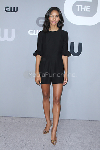 NEW YORK, NY May 17, 2018: Greta Onieogou at the  CW Upfront 2018 at the London Hotel in New York. May 17, 2018 Credit:/RW/MediaPunch