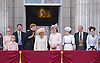 KATE, CAMILLA, PRINCE HARRY, THE YORKS AND THE WESSEXES<br /> appear on the balcony of Buckingham Palace to watch the Royal Air Force Flypast as part of the Trooping of the Colour, London_15th June 2013<br /> The annual event marks the Queen's Official Birthday.<br /> Photo Credit: &copy;Dias/NEWSPIX INTERNATIONAL<br /> <br /> **ALL FEES PAYABLE TO: &quot;NEWSPIX INTERNATIONAL&quot;**<br /> <br /> PHOTO CREDIT MANDATORY!!: NEWSPIX INTERNATIONAL<br /> <br /> IMMEDIATE CONFIRMATION OF USAGE REQUIRED:<br /> Newspix International, 31 Chinnery Hill, Bishop's Stortford, ENGLAND CM23 3PS<br /> Tel:+441279 324672  ; Fax: +441279656877<br /> Mobile:  0777568 1153<br /> e-mail: info@newspixinternational.co.uk