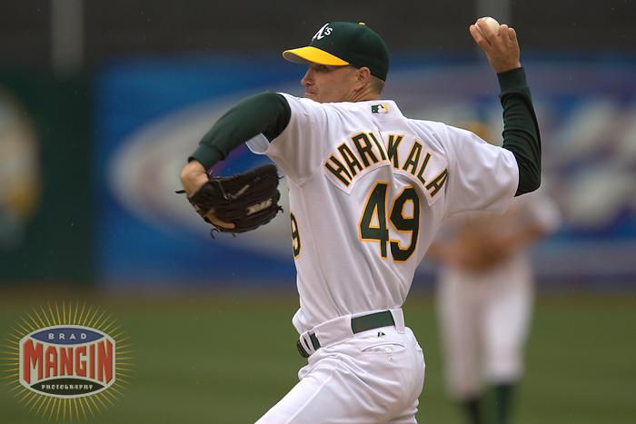 Tim Harikkala. Baseball: New York Mets vs Oakland Athletics. Oakland, CA 6/16/2005 MANDATORY CREDIT: Brad Mangin