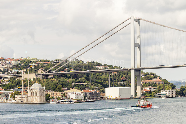 Ortakoy Mosque, beside the Bosphorus Bridge, Ortakoy, Istanbul, Turkey  May 2015.<br /> CAP/MEL<br /> &copy;MEL/Capital Pictures /MediaPunch ***NORTH AND SOUTH AMERICA ONLY***