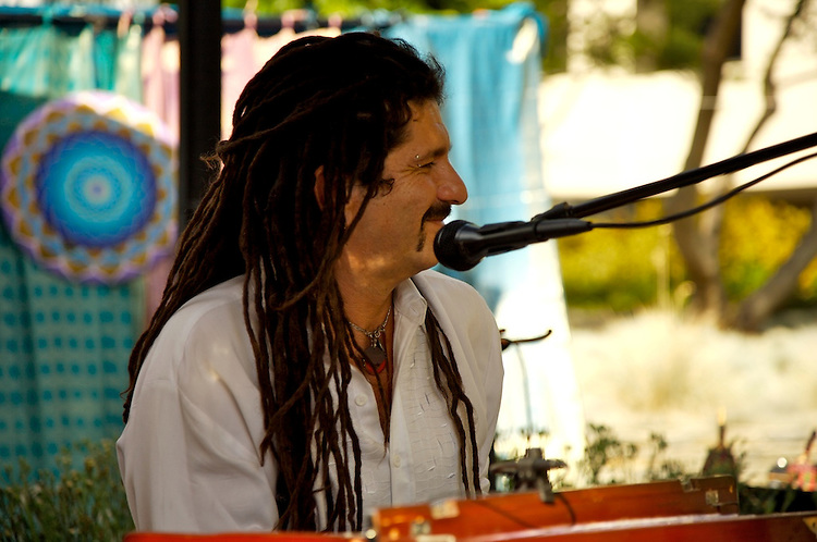 Global Mala Project Benefit Concert - All Star Kirtan at the Yahoo Center, organized by D&D productions for the Global Mala Project.  Performer: Joey Lugassy.