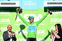 Picture by SWpix.com - 05/05/2018 - Cycling - 2018 Tour de Yorkshire - Stage 3: Richmond to Scarborough - Magnus Cort Nielsen of Astana Pro Team in the Points Jersey