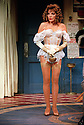 Joan Collins in Over The Moon opens at The Old Vic Theatre on 15/10/01  pic Geraint Lewis