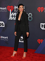 Jess Kent at the 2018 iHeartRadio Music Awards at The Forum, Los Angeles, USA 11 March 2018<br /> Picture: Paul Smith/Featureflash/SilverHub 0208 004 5359 sales@silverhubmedia.com