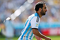 Gonzalo Higuain (ARG), JULY 1, 2014 - Football / Soccer : FIFA World Cup Brazil 2014 Round of 16 match between Argentina 1-0 Switzerland at Arena de Sao Paulo in Sao Paulo, Brazil. (Photo by D.Nakashima/AFLO)