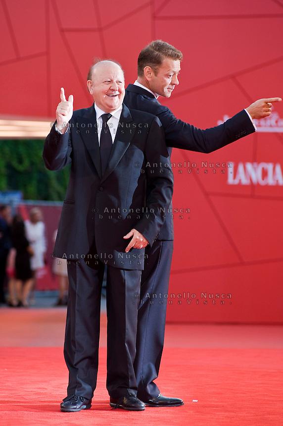 Massimo Boldi e Rocco Siffredi al Festival del Cinema