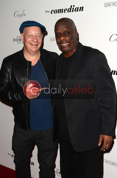 "Jeff Ross, Jimmie Walker<br /> at ""The Comedian"" Los Angeles Premiere, Pacific Design Center, West Hollywood, CA 01-27-17<br /> David Edwards/DailyCeleb.com 818-249-4998"