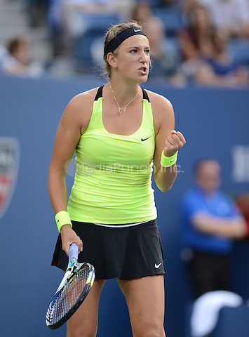 FLUSHING NY- SEPTEMBER 9: Serena Williams Vs Victoria Azarenka in the Womens  finals on Arthur Ashe Stadium at the USTA Billie Jean King National Tennis Center on September 9, 2012 in in Flushing Queens. Credit: mpi04/MediaPunch Inc. ***NO NY NEWSPAPERS***