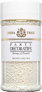 10611 String of Pearls, Small Jar 3.5 oz, India Tree Storefront