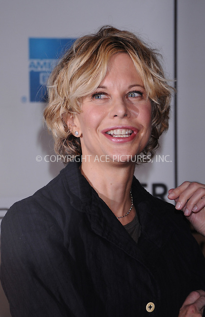 WWW.ACEPIXS.COM . . . . . ....April 25 2009, New York City....Actress Meg Ryan attending the'Serious Moonlight' premiere as part of the 8th Annual Tribeca Film Festival at the BMCC Tribeca Performing Arts Center on April 25, 2009 in New York City.....Please byline: AJ SOKALNER - ACEPIXS.COM.. . . . . . ..Ace Pictures, Inc:  ..tel: (212) 243 8787 or (646) 769 0430..e-mail: info@acepixs.com..web: http://www.acepixs.com