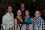 St Senan's NYE Party: Enjoying the NYE party held at St Senan's Clubhouse, Mountcoal, Listowel  were Maurice Whelan,Siobhan & Paul Walsh, Margaret Keane & Brian Fitzmaurice.