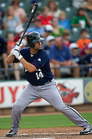 Sanchez, Gaby 3187.jpg.  PCL baseball featuring the New Orleans Zephyrs at Round Rock Express  at Dell Diamond on June 19th 2009 in Round Rock, Texas. Photo by Andrew Woolley.