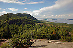 View from the Beehive, Acadia National Park, Maine, USA