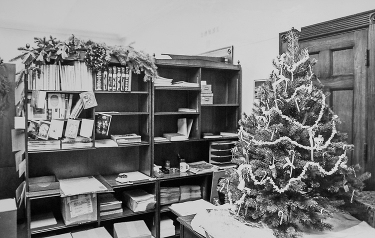 Decorated office during Christmas contest. (Photo by Keith Jewell/CQ Roll Call via Getty Images)