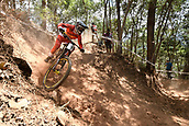 7th September 2017, Smithfield Forest, Cairns, Australia; UCI Mountain Bike World Championships; Mark Wallace (CAN)from Canyon Factory Racing DH during downhill practice