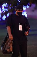 WASHINGTON, D.C. - JULY 30: Hyun-jin Ryu of Major League Baseball's Toronto Blue Jays seen exiting Nationals Park after a 6-4 loss against the Washington Nationals during the COVID-19-shortened season in Washington D.C. on July 30, 2020. Credit: mpi34/MediaPunch