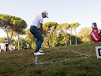 Joakim Lagergreen (SWE) in action on the 9th hole during the final round of the 76 Open D'Italia, Olgiata Golf Club, Rome, Rome, Italy. 13/10/19.<br /> Picture Stefano Di Maria / Golffile.ie<br /> <br /> All photo usage must carry mandatory copyright credit (© Golffile | Stefano Di Maria)