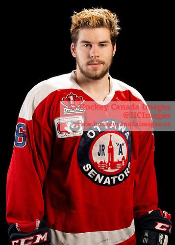 Brooks, AB - May 10 2019 - Ottawa Junior Senators during the 2019 National Junior A Championship at the Centennial Regional Arena in Brooks, Alberta, Canada (Photo: Matthew Murnaghan/Hockey Canada)