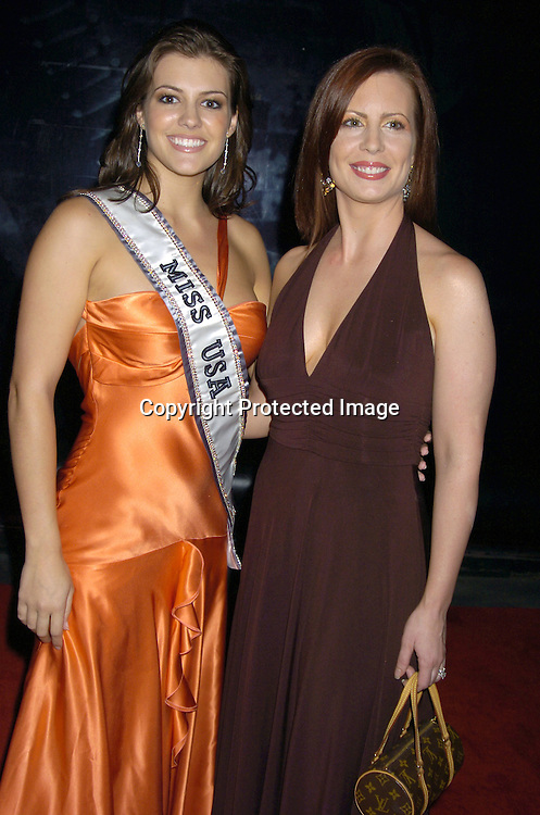 Miss USA Chelsea Cooley and Martha Byrne from As The World Turns ..at The American Women in Radio and Television's 30th Annual Gracie Allen Awards on June 22, 2005 at the Marriott Marquis. ..Photo by Robin Platzer, Twin Images